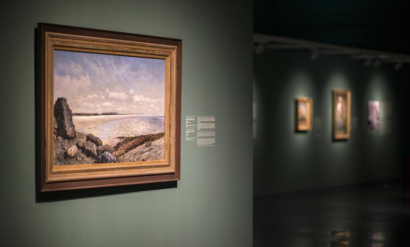米歇尔 巴斯托斯_美国印第安纳大学埃斯凯纳齐艺术博物馆藏19-20世纪风景画展