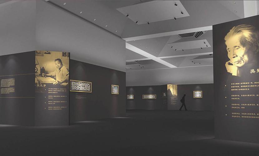 此次展览从已故的清华大学美术学院老一辈艺术教育家中,精心遴选出